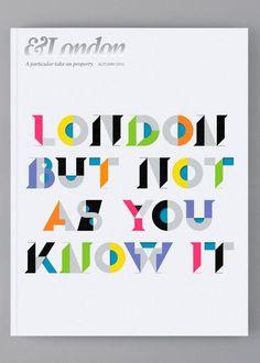 Actualité / Sawdust - &London / étapes: design & culture visuelle