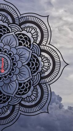 Mandala wallpaper by Maussk now. Browse millions of popular cielo wallpapers and ringtones on Zedge and personalize your phone to suit you. Browse our content now and free your phone Mandala Doodle, Mandala Art Lesson, Mandala Artwork, Mandala Tattoo, Mandala On Wall, Doodle Art Drawing, Mandala Drawing, Mandala Sketch, Watercolor Mandala