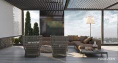 luxurious balcony design ideas