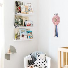 A sweet corner of Eliza's nursery as seen in the latest issue of @mintymagazine jump over to their page and follow the link. Designed and styled by @aimeestylist  @hailsandshine #interiors #interiorstyling #newbaby #nursery #interiordesign