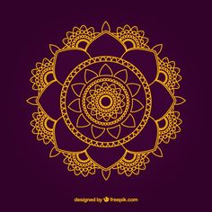 Mandala-Design | Download der kostenlosen Vektor