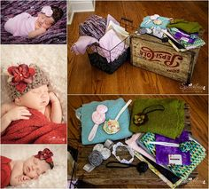 photo tips & props for taking pictures of newborns | everydayelementsonline.