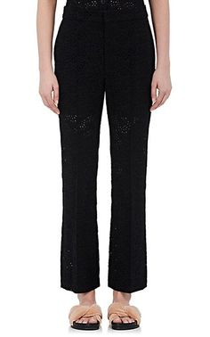 We Adore: The Eyelet Crop Trousers from Chloé at Barneys New York
