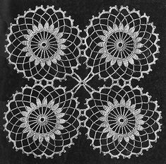 This Pin was discovered by Gül dantel örnekleri motif Crochet Tablecloth Pattern, Free Crochet Doily Patterns, Crochet Motifs, Crochet Borders, Crochet Doilies, Crochet Flowers, Crochet Lace, Crochet Stitches, Knitting Patterns