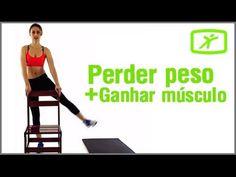 Perder Peso e Ganhar Músculos em Casa - Treino para Iniciantes #1 - YouTube