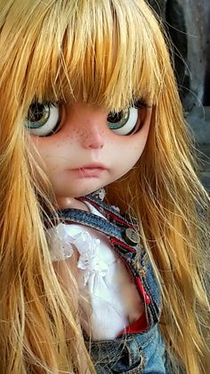 Kawaii Cute News: Blythe le bambole per bambine adulte Pretty Dolls, Cute Dolls, Beautiful Dolls, Blythe Dolls, Girl Dolls, Baby Dolls, Tilda Toy, Creepy, Little Doll