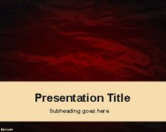 Free Thriller PowerPoint template background is a free abstract slide design that you can download to use in PowerPoint presentations