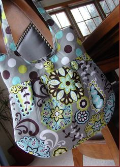 I've made a few handbags the last few years, and have been really happy with the results. I think the ones I've liked the best are the ones I put together without a pattern - I love a good sewing challenge!