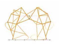 A Theo Jansen's walking mechanism #video #kinetic