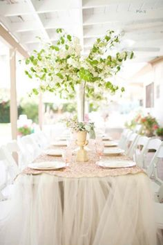Delicieux 179 Best DIY Tulle Wedding Decorations Images On Pinterest In 2018 | Tulle  Decorations, Tulle Wedding Decorations And Wedding Tables