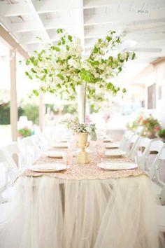 diy tulle wedding tableclothes brides of adelaide magazine
