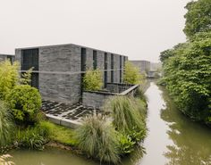 Xixi Wetland Estate by David Chipperfield Architects in Hangzhou, China