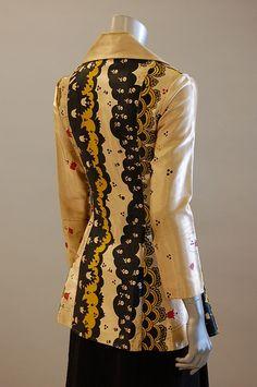 Ossie Clark w/ Celia Birtwell print jacket, back