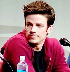 Grant Gustin. The Flash