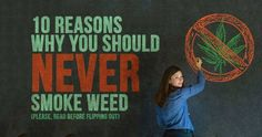 Weed is bad. How is weed bad? It just is, according to the US government, and you can't have it. Period. The End.