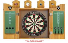 Chicago Bears NFL Dart Board w/Cabinet available for $164.97 only..