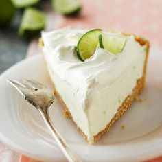 Whipped Key Lime Pie: Light and fluffy Key Lime pie Recipe with only 5 ingredients!