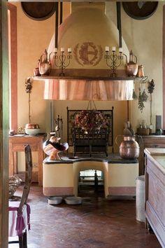 Stefano Scatà Food Lifestyle and Interiors photographer Villa Manin Copper Kitchen, Rustic Kitchen, Kitchen Decor, Old World Kitchens, Toscana Italia, Italian Villa, English House, Tuscan Decorating, Old World Style