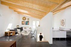 Bemerkenswert V House Interior Design Ideen In Leiden: Wohnzimmer Und Küche  Zimmer Im