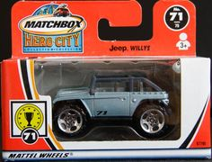 Model Matchbox Jeep Willys