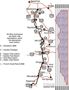 Mickelson Trail Elevation Map.79 Best Bike Trails Hiking Trails Images In 2019 Bike Trails