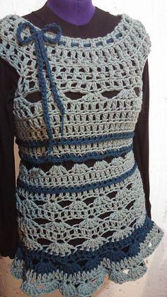 Ravelry: disou's The Snow Bell dress - crochet test