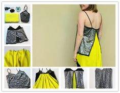 How to make pretty DIY top to wear on holidays step by step tutorial instructions