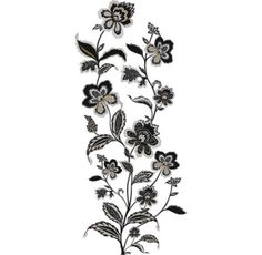 RoomMates Variable Sized - Jazzy Jacobean - Self-Adhesive Repositionab Wall Coverings Adhesives Wall Decals Jacobean, Wedding Weekend, Wall Decals, Destination Wedding, How To Apply, Ink, Roommates, Silver, Prints