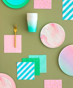 Oh Happy Day Pink Marble Plates (Large) Diy Party Decorations, Party Themes, Party Ideas, Tupperware, Marble Plates, Party Suppliers, Modern Crafts, Party Banners, Butterfly Flowers
