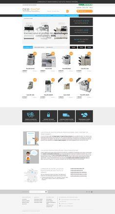 PrestaShop Theme Responsive 99% : Location imprimante Professionnelle &…