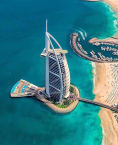 Burj Al Arab 📍 Dubai, United Arab Emirates Photos by In Dubai, Dubai City, Dubai Hotel, Dubai Beach, Visit Dubai, Dubai Uae, Dubai Skyscraper, Burj Al Arab, Futuristic Architecture