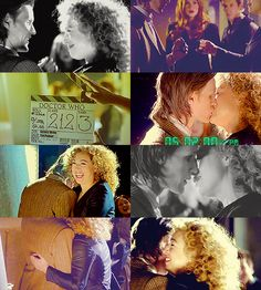 Behind the scenes filming The Wedding of River Song