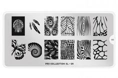 MoYou-London: MoYou-London Schablone Pro Collection XL 05 bei German Dream Nails