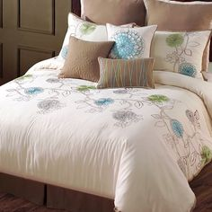 I pinned this Spring Flower Comforter Set from the Spring Awakening event at Joss and Main!