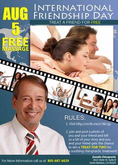 Santa Barbara Chiropractic Treatment Promo And Discount... Find out more about us on www.zemellachiro.com