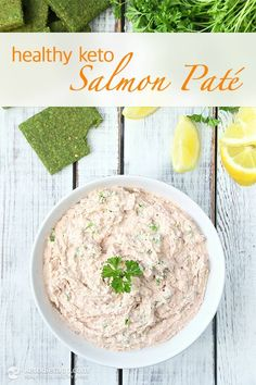 Healthy Keto Salmon Paté