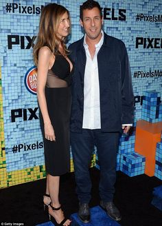 Adam Sandler hits the red carpet with wife at premiere of Pixels