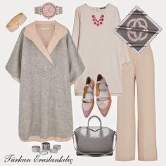 Hijab fashion, new season collections, hijab combinations, style suggestions . Hijab Casual, Hijab Chic, Modesty Fashion, Muslim Fashion, Hijab Fashion, Fashion Outfits, Modest Dresses, Modest Outfits, Casual Outfits