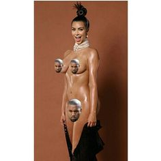 Full frontal nudes are released now for #KimKardashian 's #Papermagazine spread.   Oh, why am I not surprised. #OooLaLaBlog #breaktheinternet
