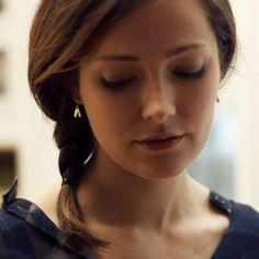 Arrow Earrings: Recycled Brass on Sterling Silver Ear Wires