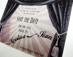 Movie Credits Style Wedding Program Also by PerfectPairWeddings