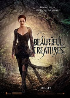 Ethan Wate just wants to get to know Lena Duchannes better, but unbeknownst to him, Lena has strange powers. Emmy Rossum Beautiful Creatures, Beautiful Creatures Series, Ethan Wate, Ridley Duchannes, Creature Movie, Sublime Creature, Kami Garcia, Film Serie, Movies And Tv Shows