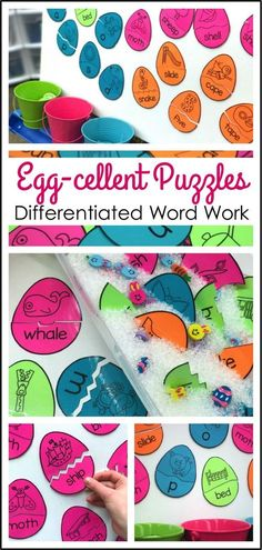 This FREE resource makes word work differentiated and self-correcting so easy and fun!!!