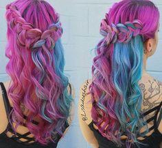 purple & blue