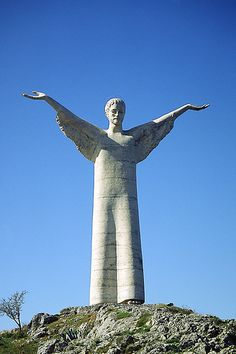 Statua del Redentore Maratea  Basilicata