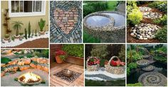 many great and creative ideas from stones that will beautify your garden. Feel free to check out my collection of Impressive Stone Decor For Your Garden That You Have To See Garden Ideas Large, Garden Ideas Diy Cheap, Ideas Para Decorar Jardines, Garden Art, Garden Design, Wood Slice Crafts, Shade Flowers, Small Space Gardening, Stone Art