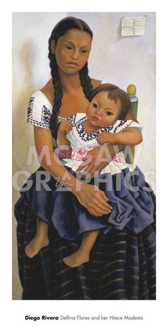 Delfina Flores and her Niece Modesta