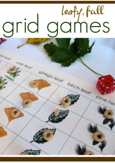 fun fall grid games