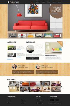 Stylish Furniture Web Template