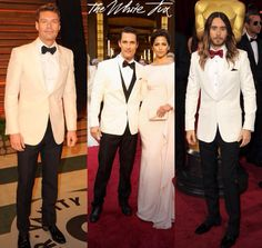 #ryan seacrest STiLe is the best in the white tux.